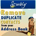 Scrubly Duplicate Remover